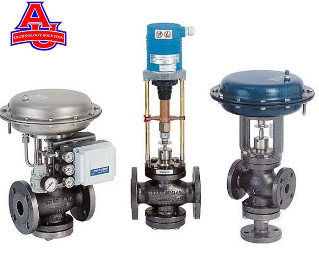 các loại van điều khiển khí nén dùng điều khiển dùng trong các nhà máy sử dụng nhiệt độ, để sấy hấp...
