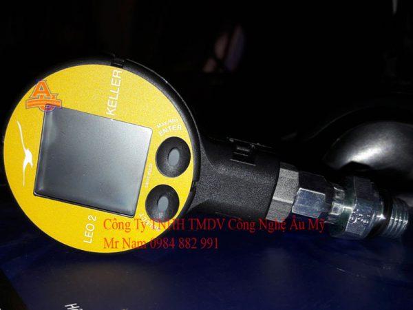 đồng hồ đo áp suất điện tử leo2