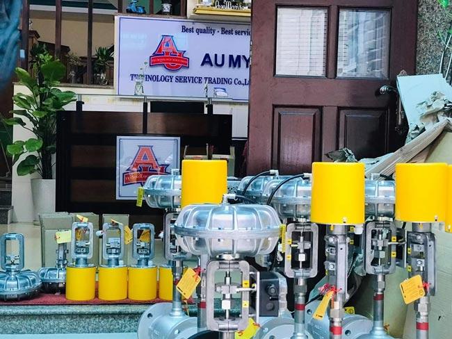 Van điều khiển khí nén dùng điều khiển hơi và dầu, tốc độ đóng van nhanh nên sẽ đảm bảo các yêu cầu cao của khách hàng
