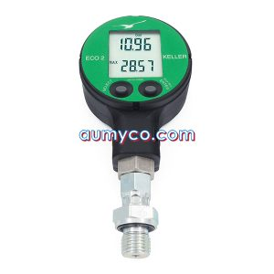 Đồng hồ áp suất điện tử ECO2 Keller