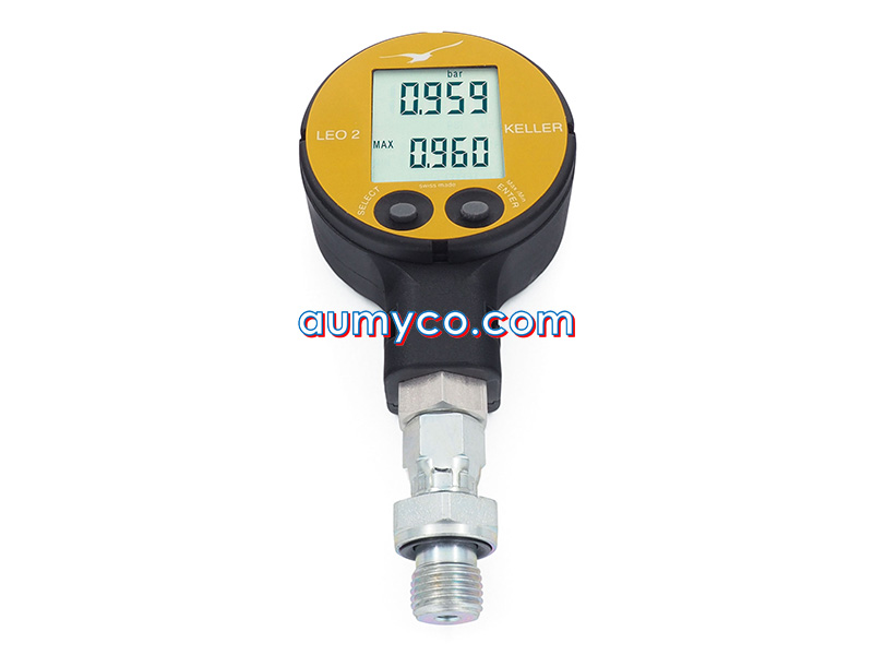 Đồng hồ áp suất điện tử LEO2 Keller
