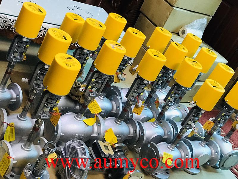Van điều khiển dầu nóng Baelz