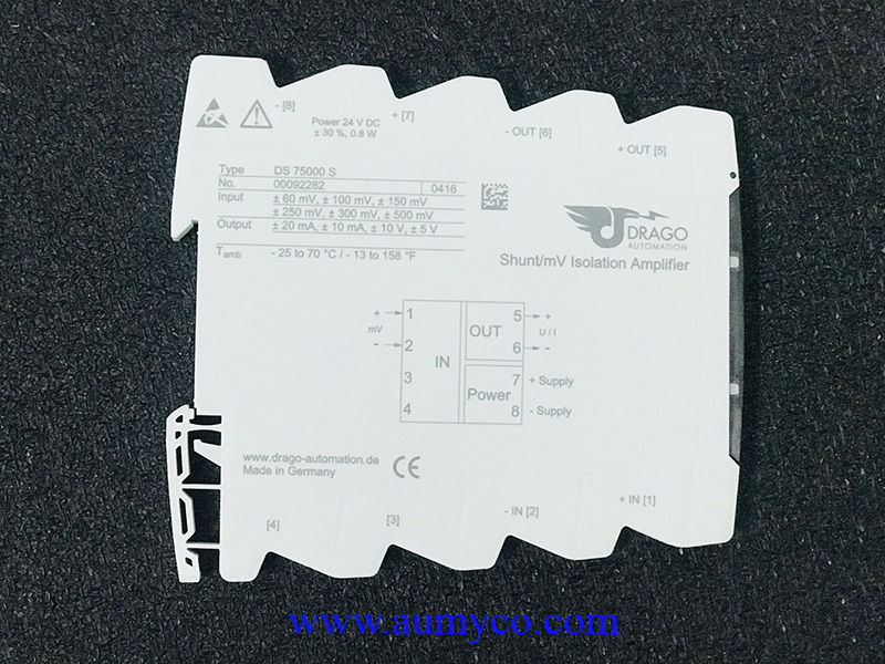 Bộ chuyển đổi tín hiệu loadcell sang 4-20mA đến từ hãng Drago/Germany với chất lượng vượt trội và giá thành lại rất tốt.