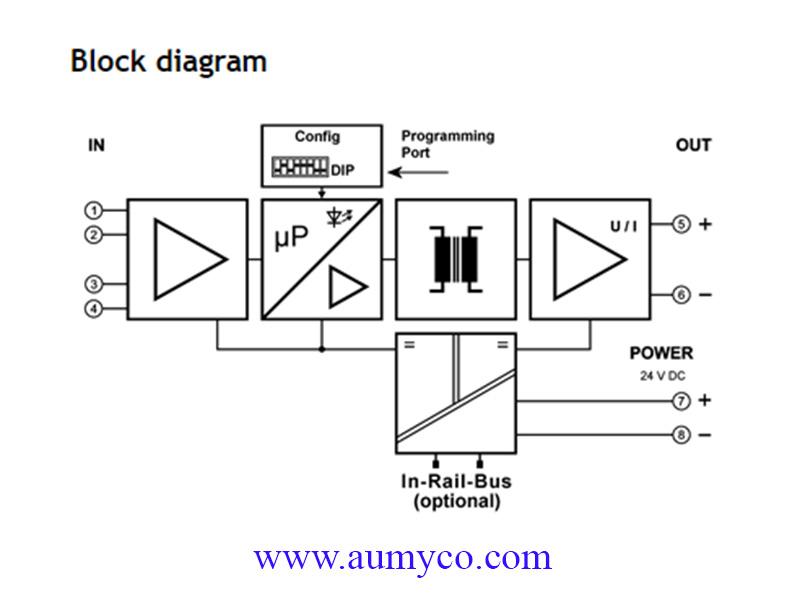 Bộ chuyển đổi tín hiệu PT100 DT45200