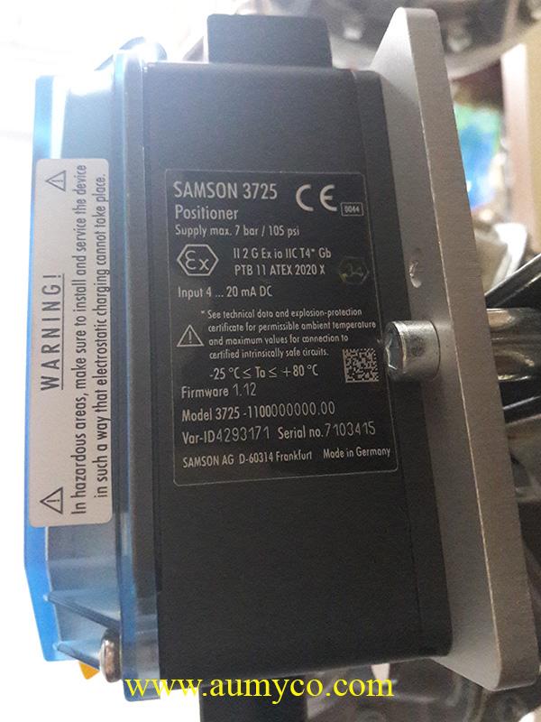 Bộ positioner Samson 3725
