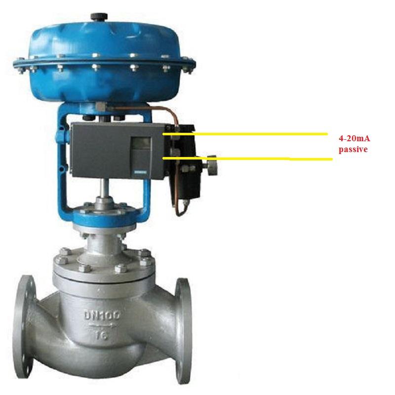 tín hiệu 4-20mA passive của van điều khiển