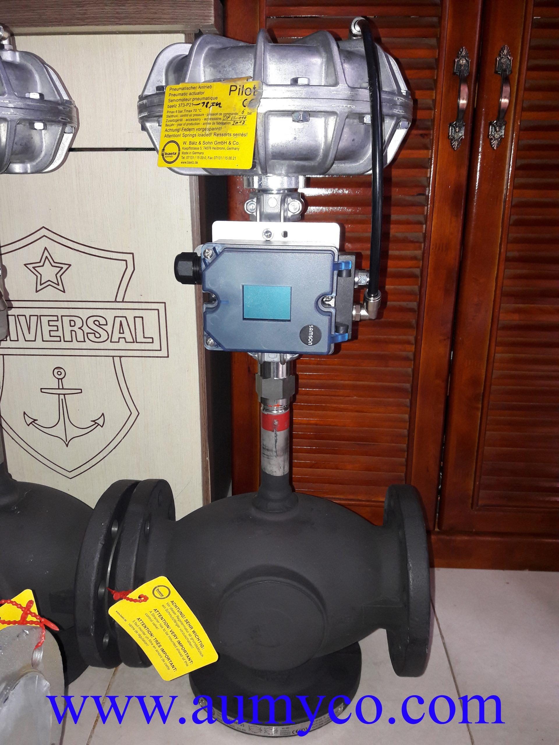 Van điều khiển dầu nóng DN80