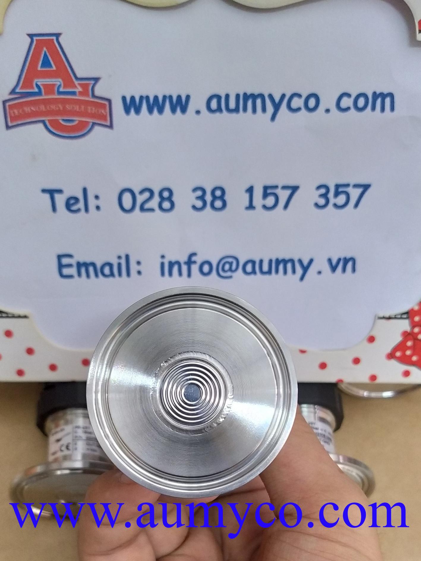 Cảm biến áp suất kết nối clamp